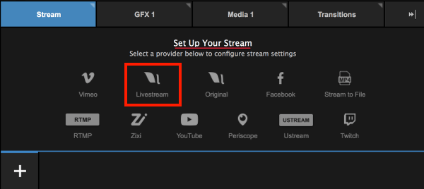 stream to multiple providers