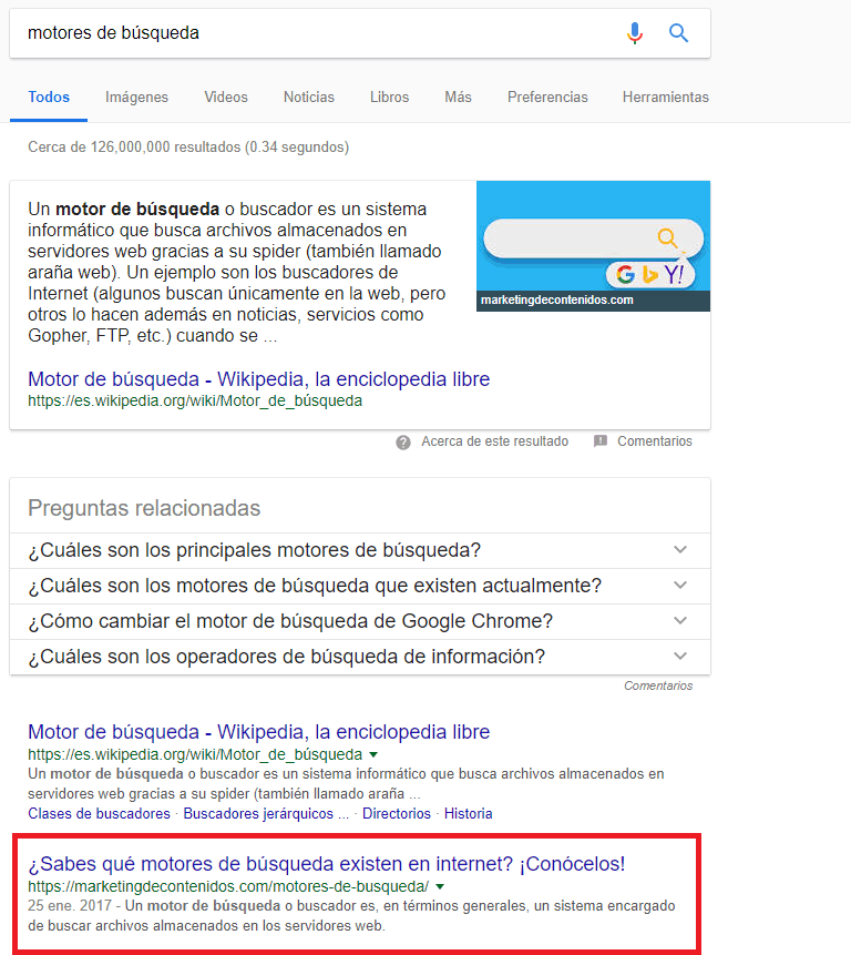 "example of ""search engine"" in mexico"