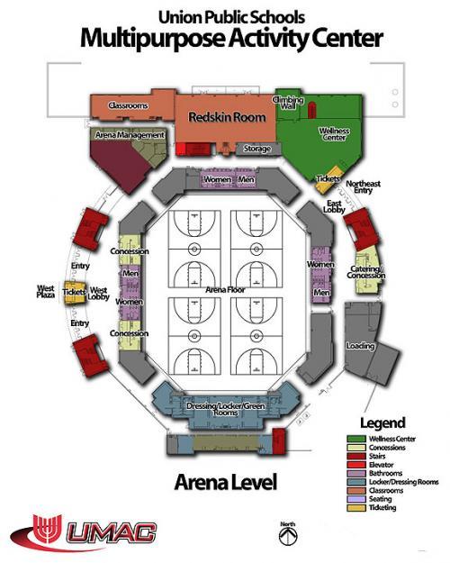 Redskin Stadium Map : redskin, stadium, Union, Public, Schools, Seating/Layout