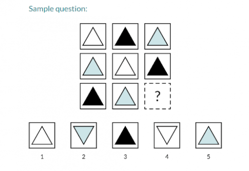 Gifted And Talented Testing Sample Questions