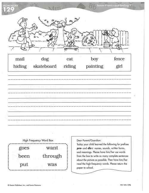 small resolution of Chandler Public Schools - Saxon Phonics