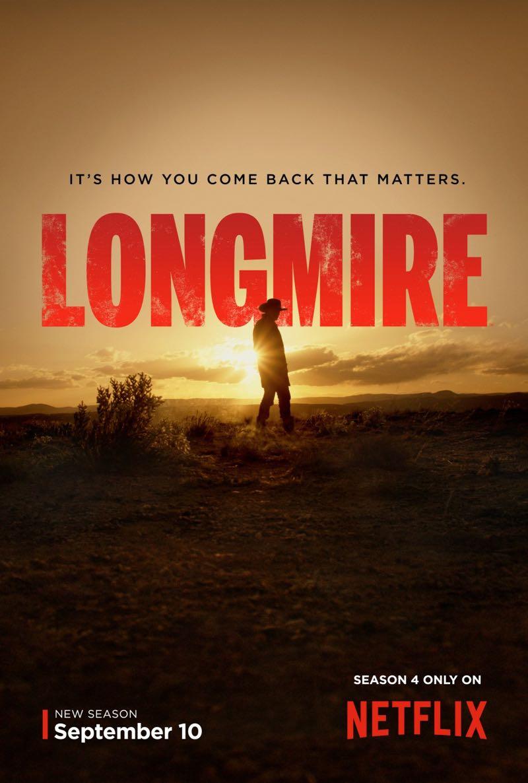LONGMIRE Season 4 Poster  SEAT42F