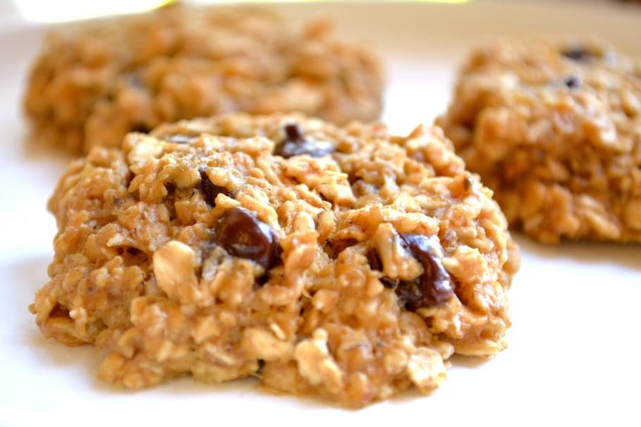 4 ingredient microwave cookies