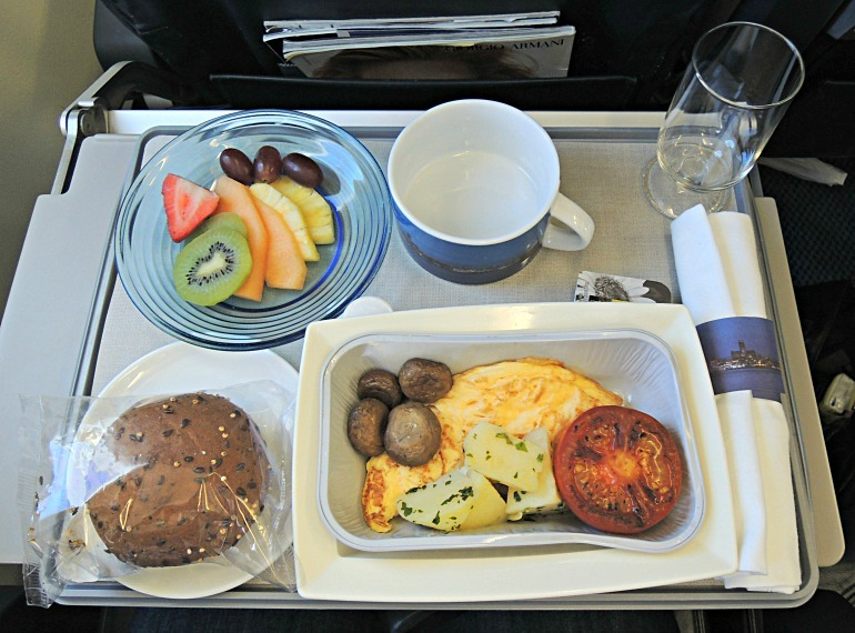The Definitive Ranking of Airline Food