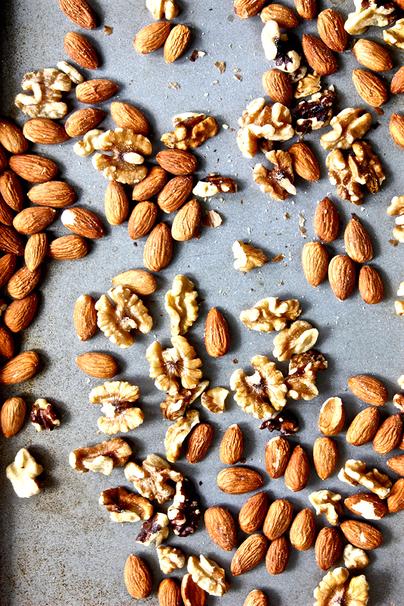 nut, walnut, almond, meat