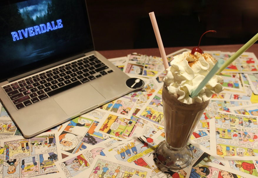 Drink This Double Chocolate Malted Milkshake While Watching Riverdale