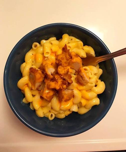 Mac and Cheese With Chick-fil-A Nuggets Recipe