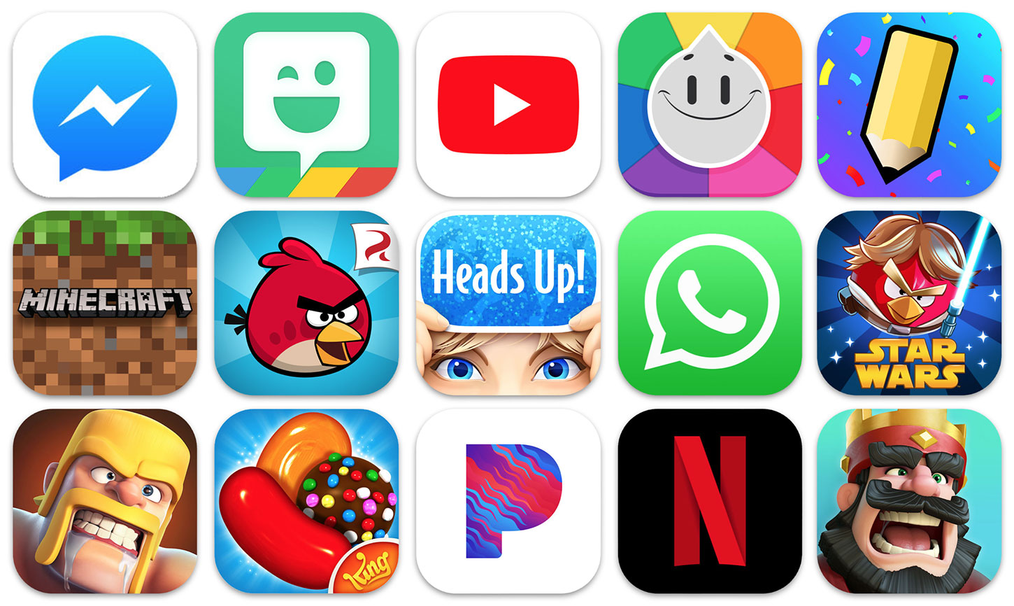 these apps and games