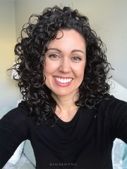 simple curly girl styling routine