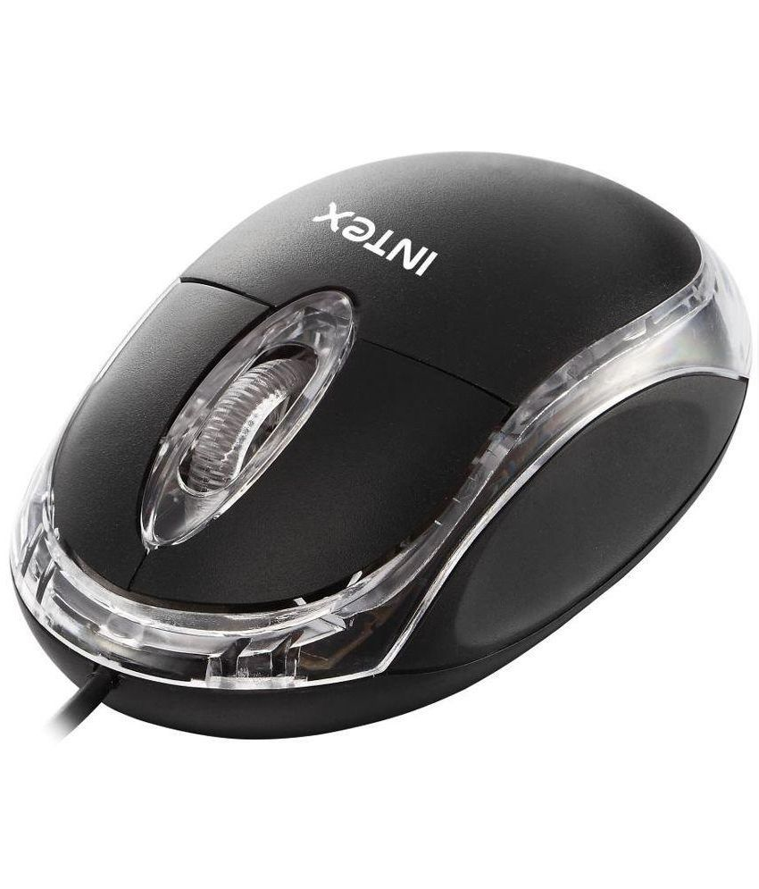 5c456c8c95f Intex Magic USB Wired Black Mouse – Shop4Deal