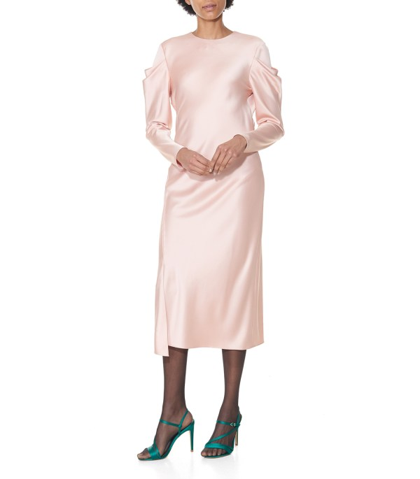 6d8c244ce94 20+ Blush Silk Peplum Dress Pictures and Ideas on Meta Networks