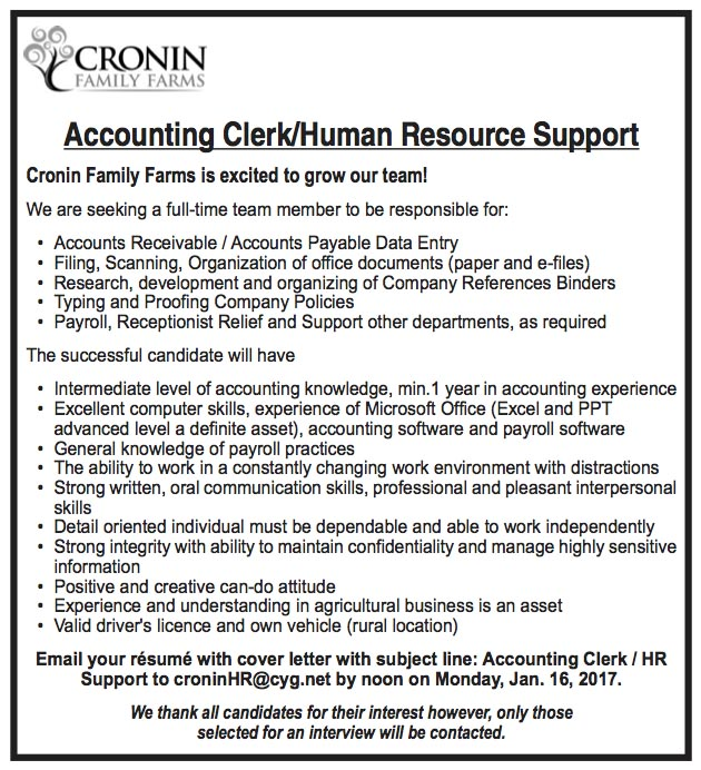 ShopLocalNow  Canada  Accounting ClerkHuman Resource Support