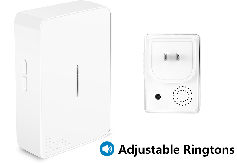 38 Chime Songs Wireless Doorbell Self-powered No Battery