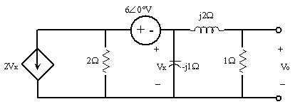 [Solved] Use nodal analysis to find V0 in the circuit
