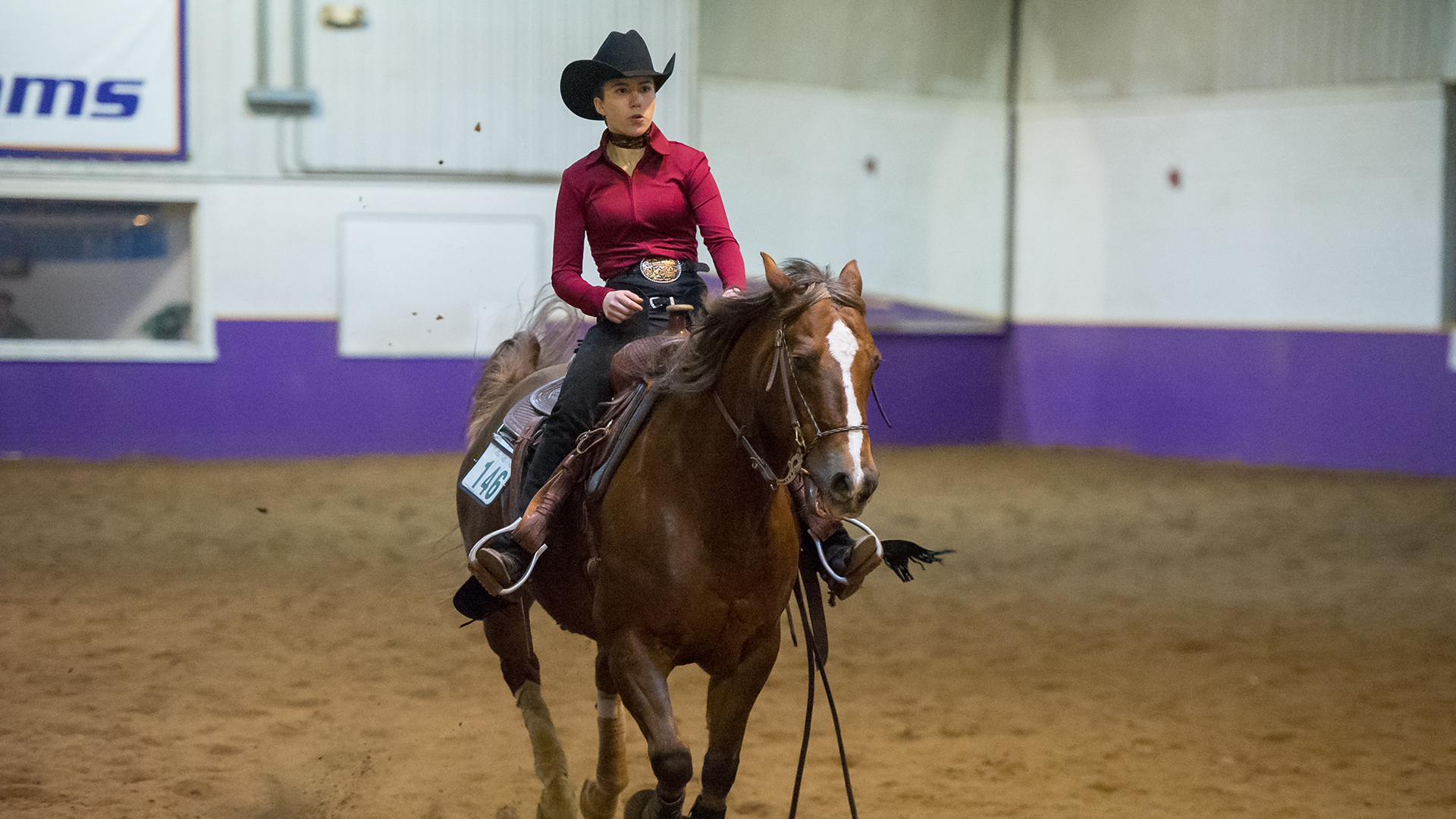 Western Equestrian Finishes Sixth At Aqha National
