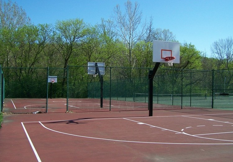 Outdoor Basketball Courts  Chestnut Hill College Athletics