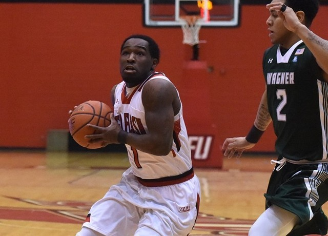 Senior point guard Malik Harmon will be counted heavily as he leads a mostly young SFU squad. (Photo: sfuathletics.com)