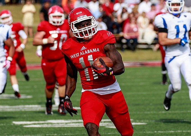 Image result for tyreek hill university of west alabama