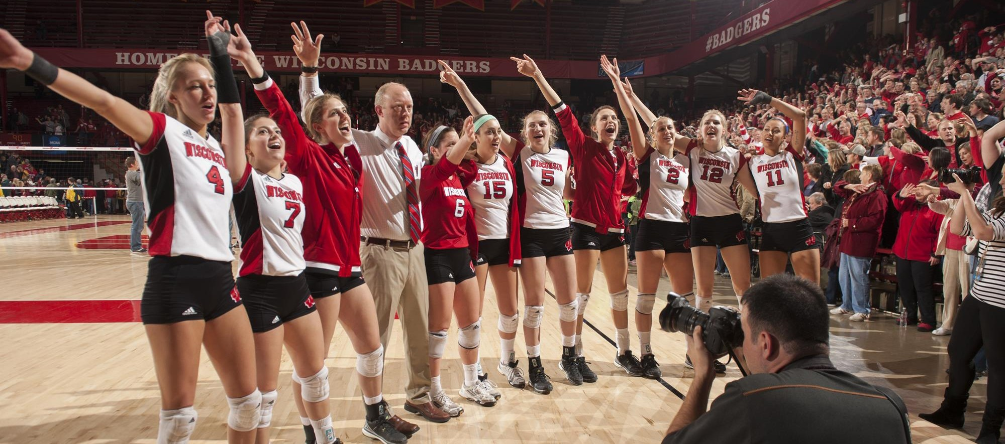 Volleyball  Wisconsin Athletics  Badgers fall in five
