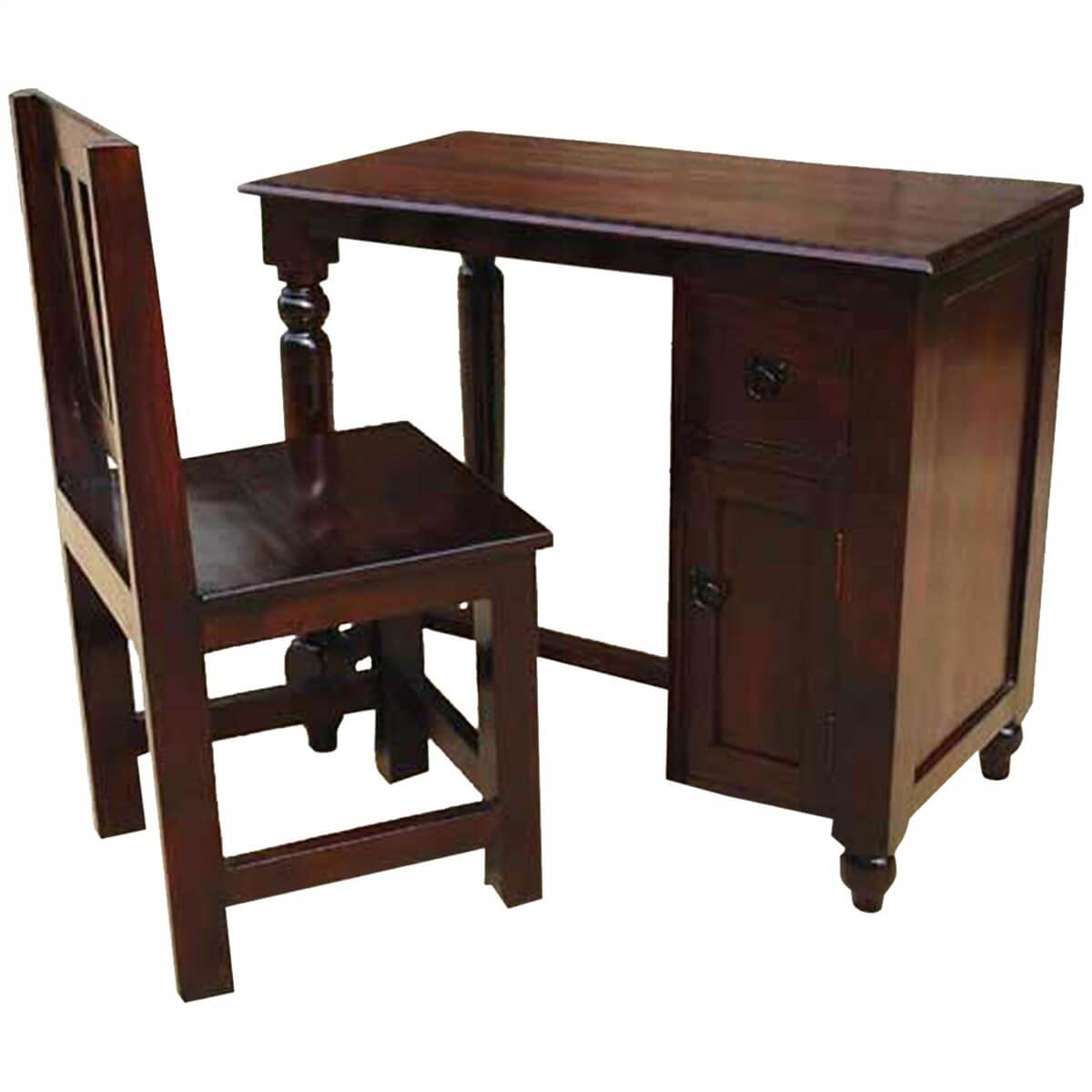 Study Table And Chair Solid Wood Student Writing Desk Chair Study Table