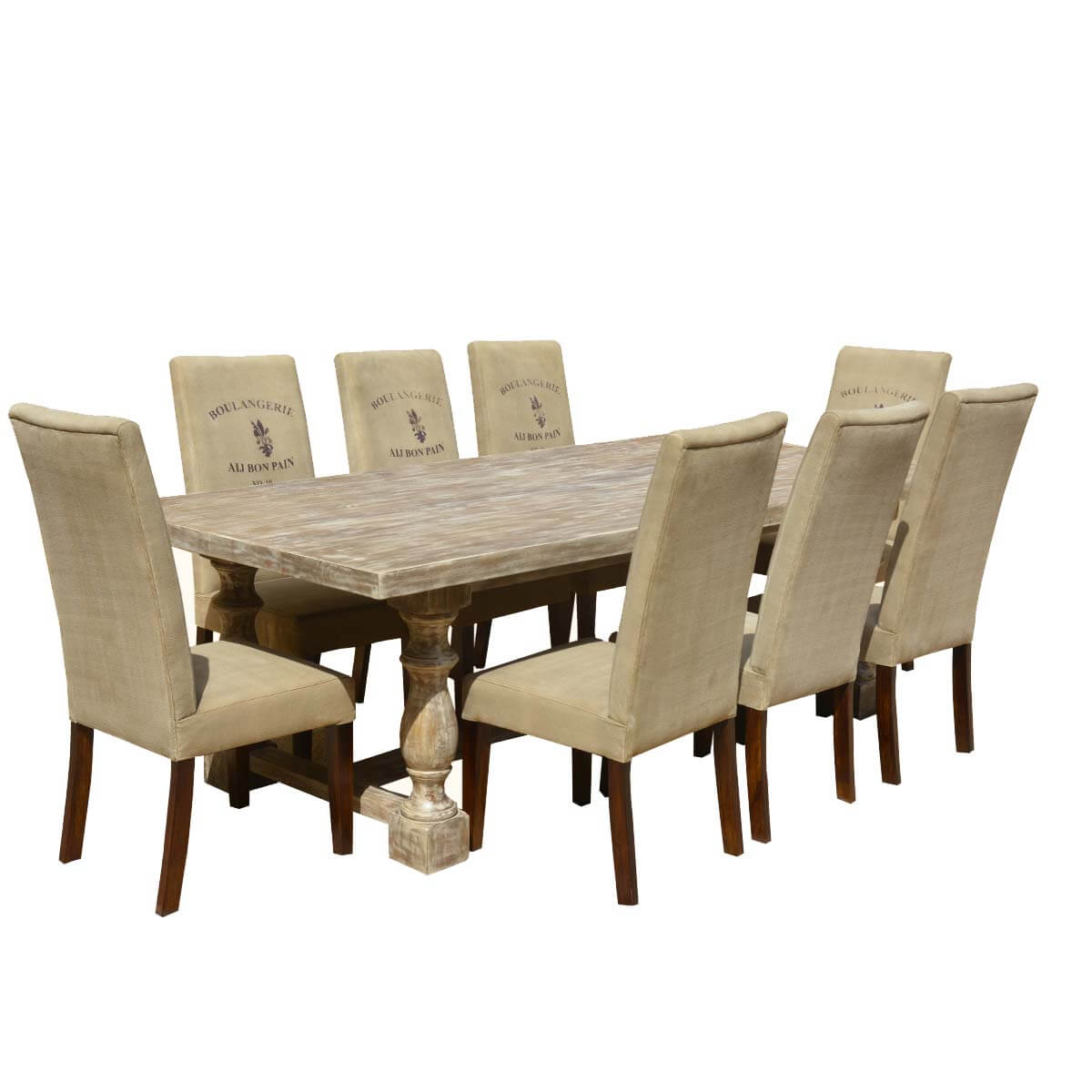 al s chairs and tables blue accent arm chair italian mango wood white dining table cafe logo fabric hover to zoom