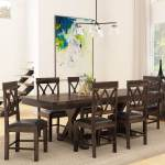 Antwerp Farmhouse Solid Wood Extendable Dining Table Chair Set