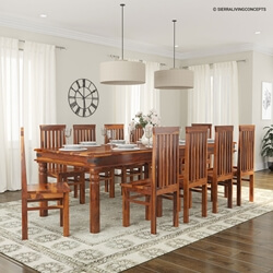 table chair set outdoor wedding rentals rustic dining and sets sierra living concepts lincoln study large room