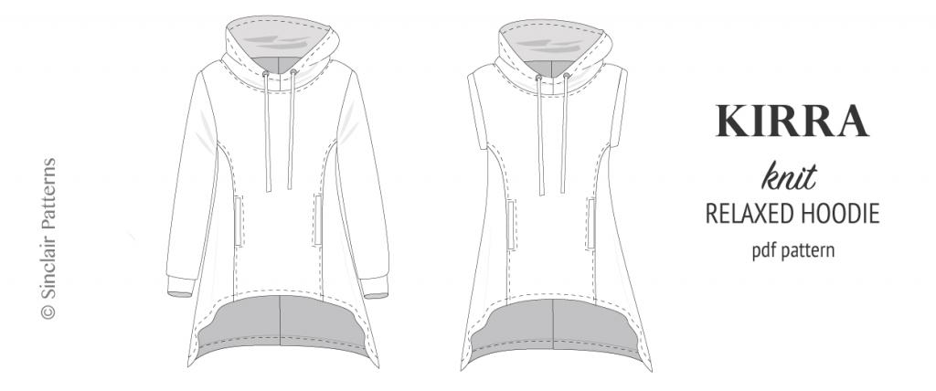 Kirra relaxed fit hoodie (PDF)