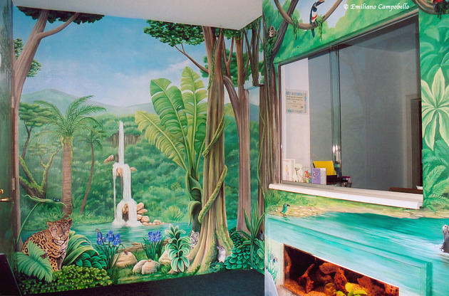 Murals and Artwork for Healing Healthcare Childrens