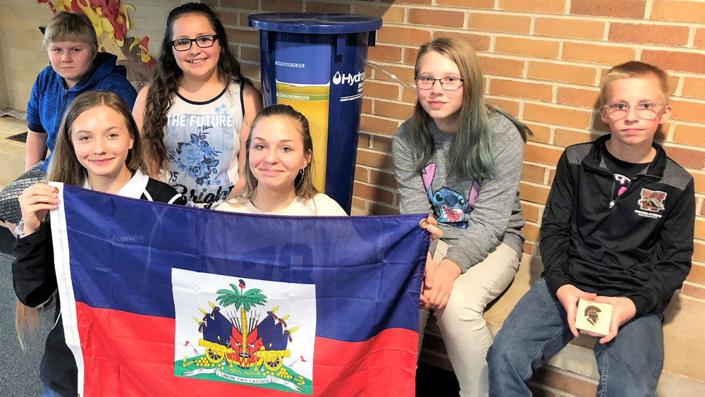 students raise funds to