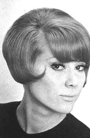 1960's Hairstyles - Inverted Bob - Vidal Sassoon