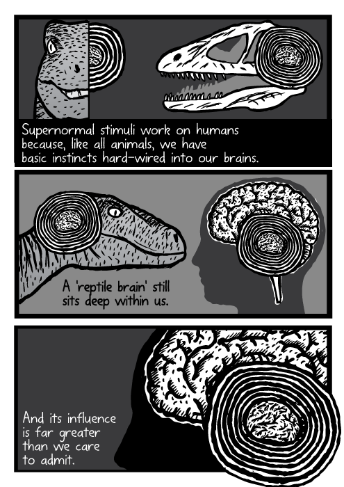 Supernormal stimuli comic - part 15