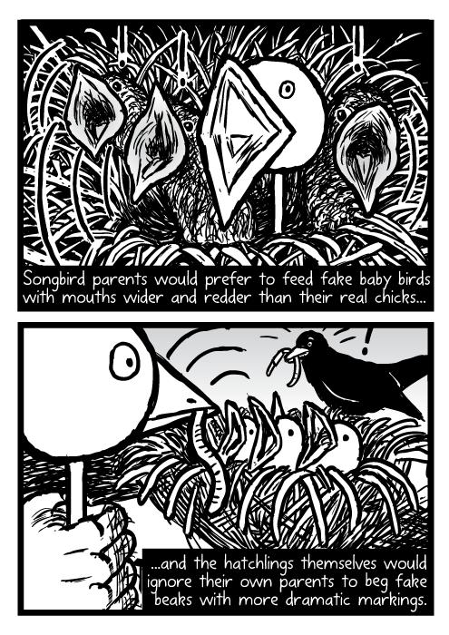 Supernormal stimuli comic - part 7