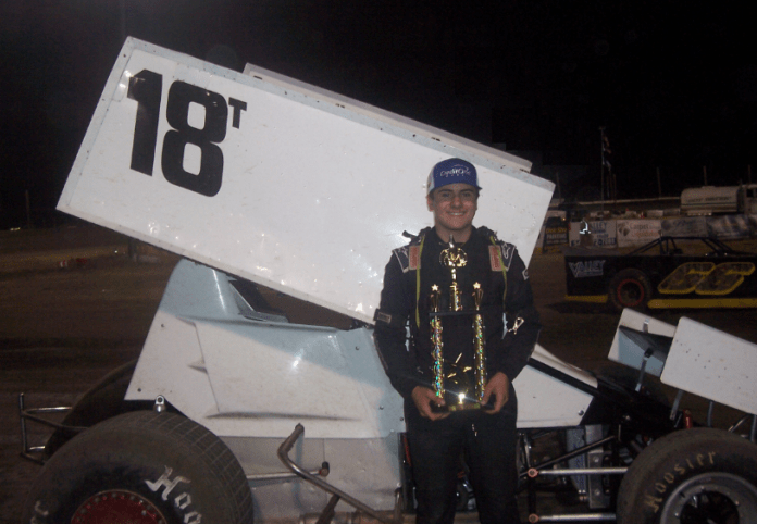 Holmes Sprints To Southern Oregon Score  SPEED SPORT