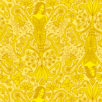 The Yellow Wallpaper fabric - totallysevere - Spoonflower