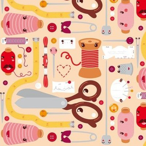 Sew And Stuff Fabric, Wallpaper & Gift Wrap Spoonflower