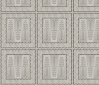 Deco_Grey WALL-3 fabric - pad_design - Spoonflower
