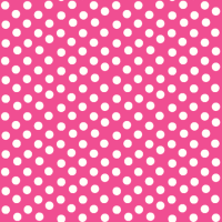 Pretty Polka Dots in Hot Pink - thepinkhome - Spoonflower