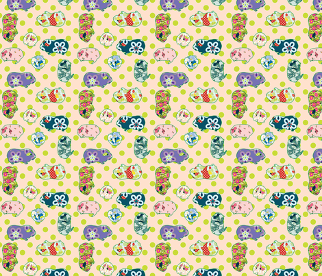 Cute Pink Pig Wallpaper Guinea Pigs 14 Designs By Anntuck