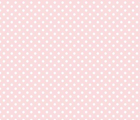pois blanc fond rose pale S wallpaper  nadja_petremand