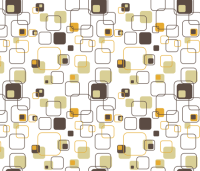 Groovy Cubes - 9in (gold) wallpaper - studiofibonacci ...