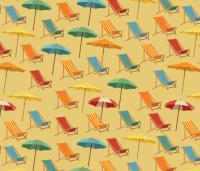 beach_chairs fabric - danab78 - Spoonflower