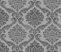 ROCK BROCADE GREY wallpaper - paragonstudios - Spoonflower