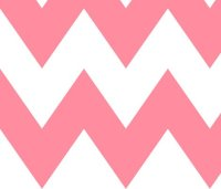 chevron xl pretty pink wallpaper - misstiina - Spoonflower