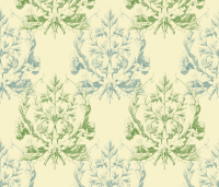 Floral Damask ~ Provencal wallpaper - peacoquettedesigns ...