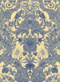 Parrot Damask ~ Provencal fabric - peacoquettedesigns ...