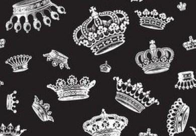 Modern Trellis Pattern Fabric Wallpaper Gift Wrap