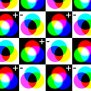 Colour Plus And Minus Wallpaper Kightleys Spoonflower