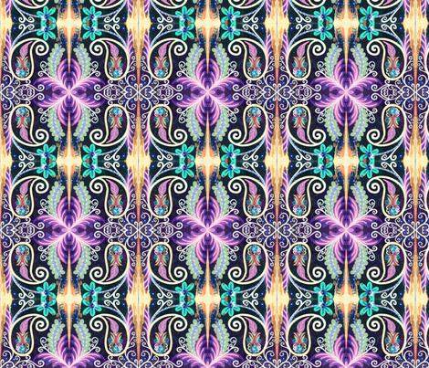 Jessica Reversed  fabric by taylorsteele on Spoonflower - custom fabric