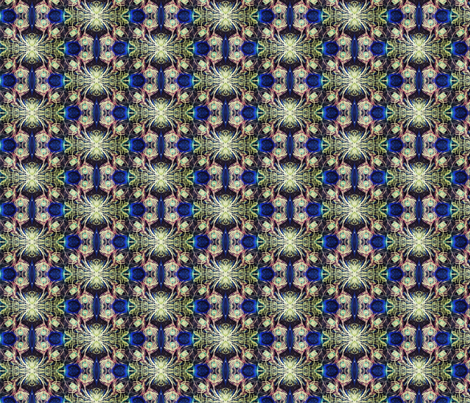 negative_peacock fabric by taylorsteele on Spoonflower - custom fabric